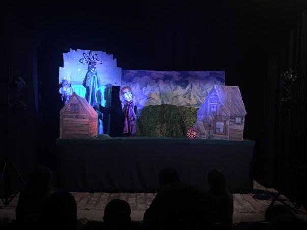 Der Eisfürst gespielt von Eva Johne