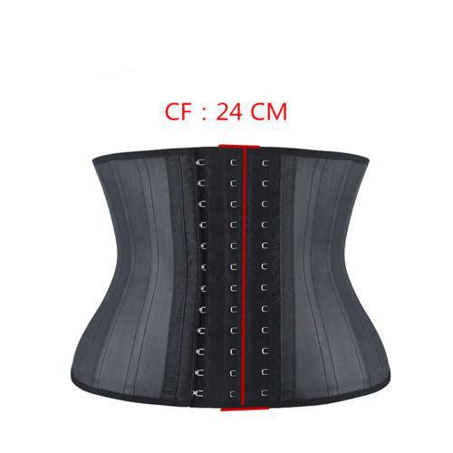 0b68262f2fb Sale! Home   Women   Black Short torso latex 25 Steel Boned Waist Trainer
