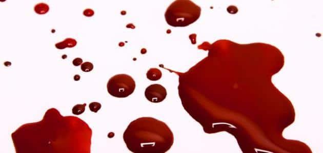 تفسير حلم خروج الدم من الفرج ومعناه مفسر
