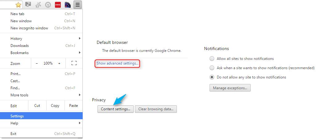Block Websites Push Notifications
