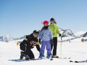 Alpinschischule Neustift Familienskilehrerstunde