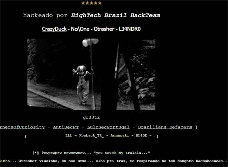 Hacked Joomla 1.5 site