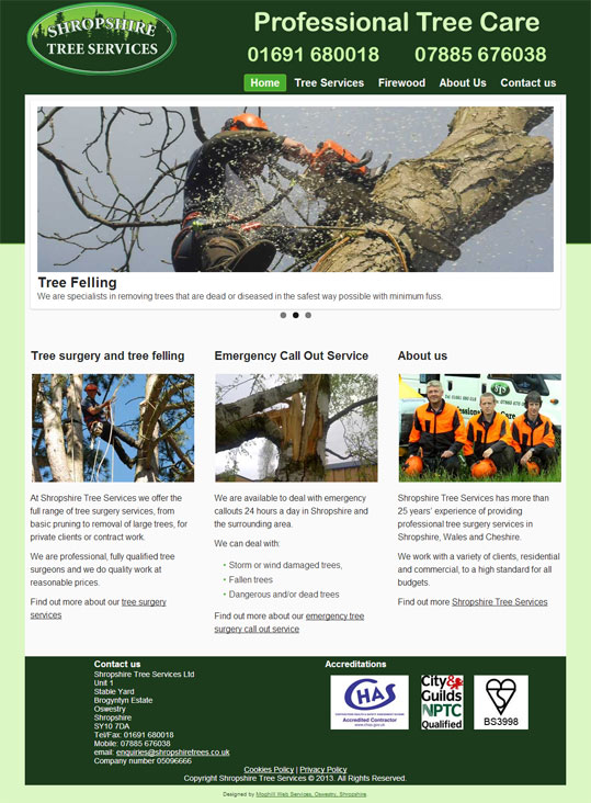 Shropshire Tree Services