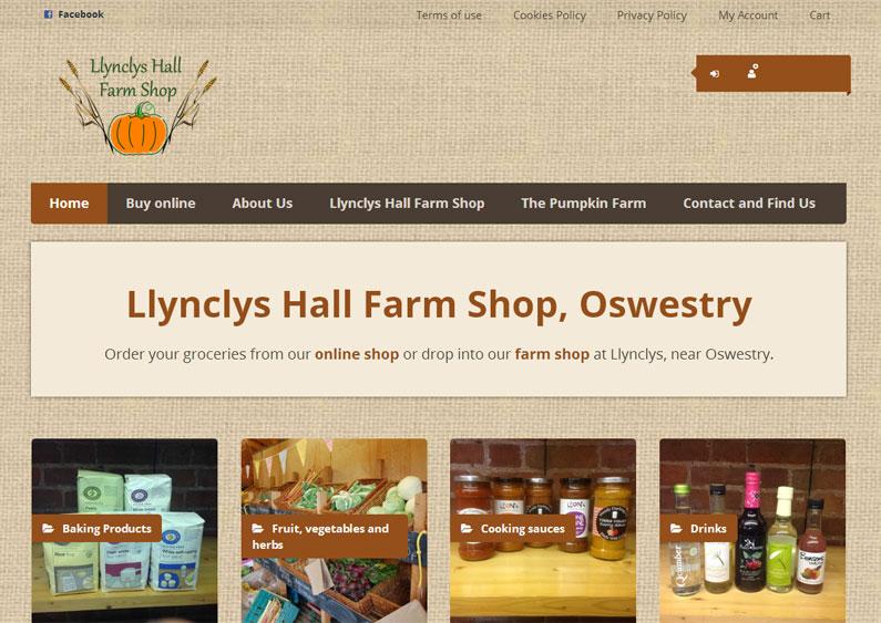 Llynclys Hall Farm Shop