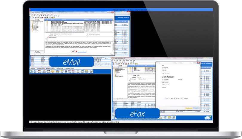 email, efax, instant messaging features for Dental Practice Management Software