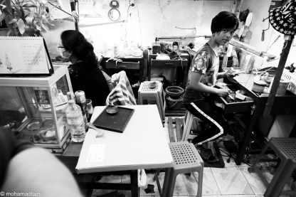 Bogyoke Aung San Market - Tailor