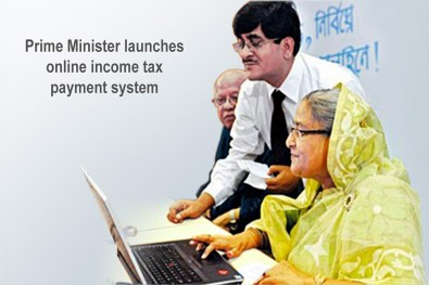 Prime Minister launches online income tax payment system