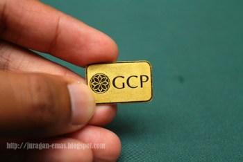 gold bar 1 gram PGCP