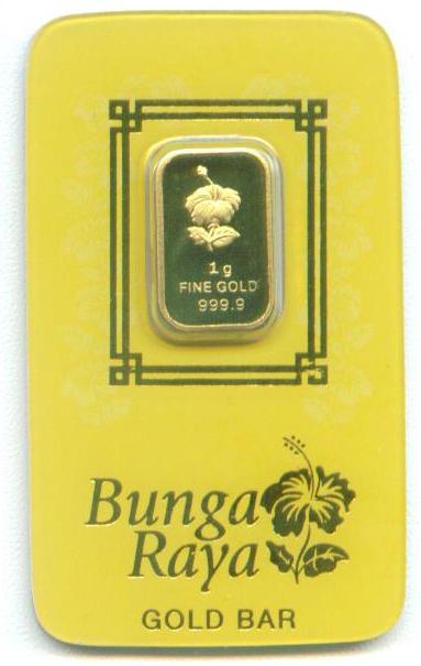 gold bar 1 gram poh kong