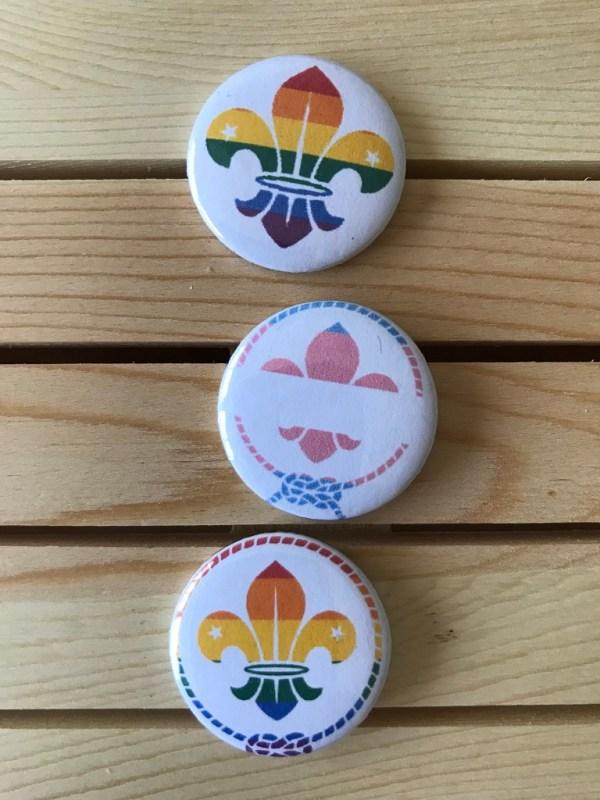 Pack 3 chapas arcoíris