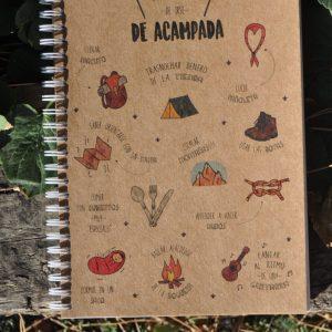 Cuaderno acampada