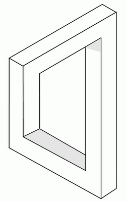 rectangle optical illusion