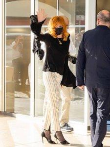Mylène Farmer, Cannes le 5 juillet 2021.
