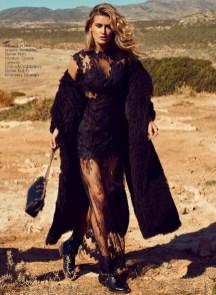 Fur piece, Beaufille, First; dress, Guess; bag, Dolce&Gabbana, KUL-T; boots, Mango