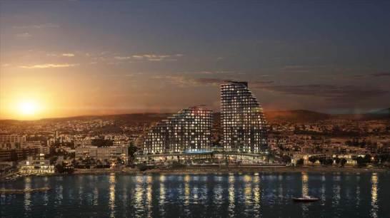 Limassol Del Mar evening