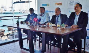 Limassol Marina press conference 2019