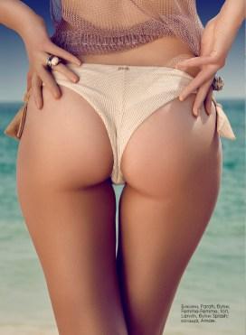 Bikini, Parah, Femme-Femme boutique , top, Lanvin, Splash by the beach; rings, Amae, amaejewels.com