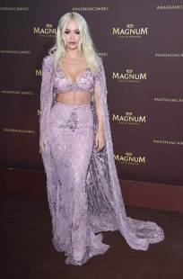 Rita Ora in Zuhair Murad Haute Couture