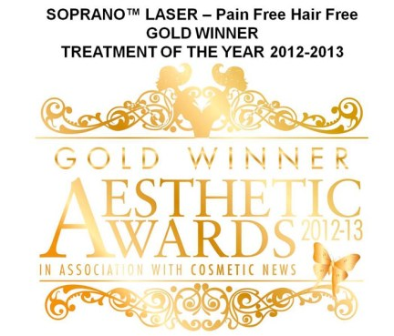 SOPRANO LASER GOLD WINNER 2012-2013