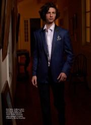 Suit, shoes, all - Versace Jeans, Kouross boutique; shirt, Verti, Kouross boutique; pocket square, Carerra, Kouross boutique