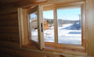 Ваш выбор деревянные окна