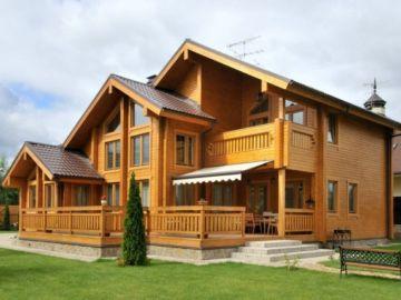 Брусовые дома – экологичное жилье по доступной цене