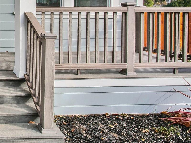 aluminum composite deck porch patio