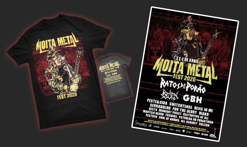 tshirts + poster mmf