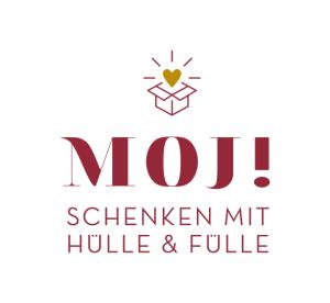 Logo moj handgefertigte Geschenkboxen