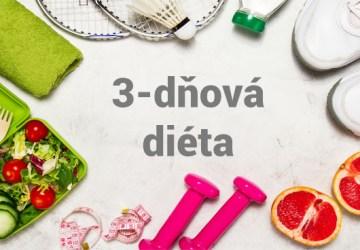Diéta na tri dni patrí medzi najobúľbenejšie.