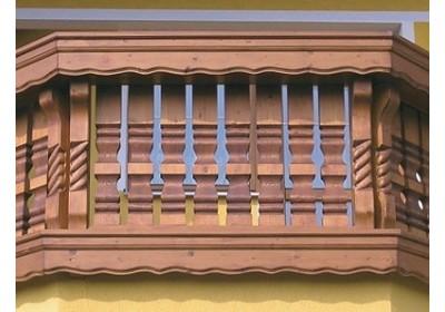 Impozantné balkóny ako ozdoba každého domu