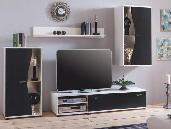 Obývacie steny a iné doplnky do obývačky