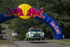Kopecký kompletuje hat-tricka dla ŠKODY Fabia R5 w WRC2