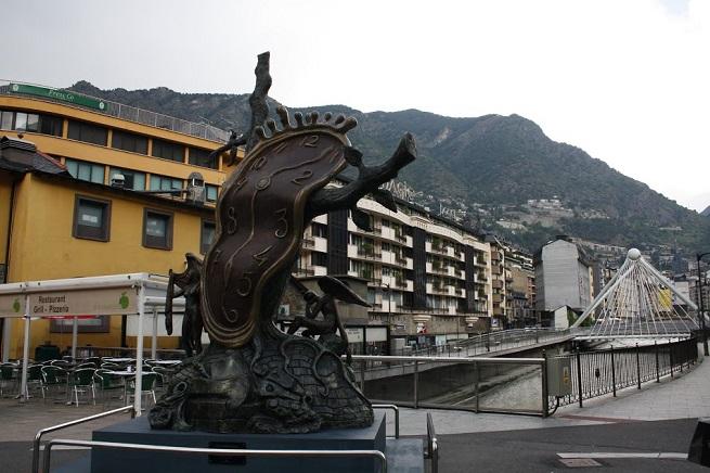 "Salvador Dali skulptura ""Nobility of time"" Foto: Filip Knežić"