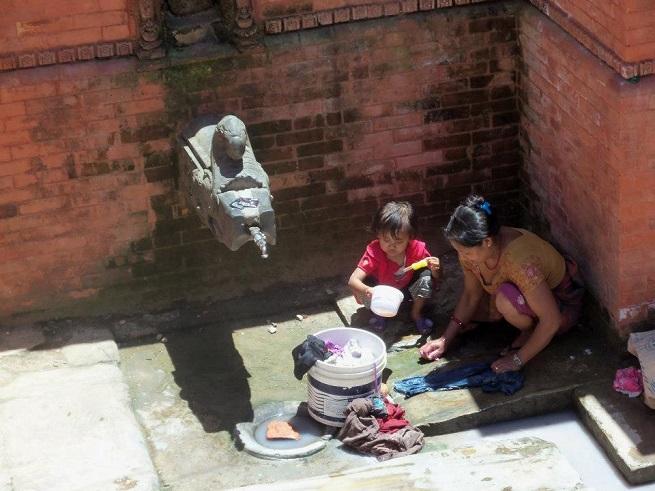 Pranje veša. Foto: Ivana Kovačević