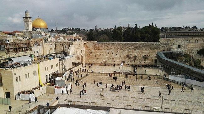 Zid plača u Jerusalimu. Foto: Ivana Kovačević