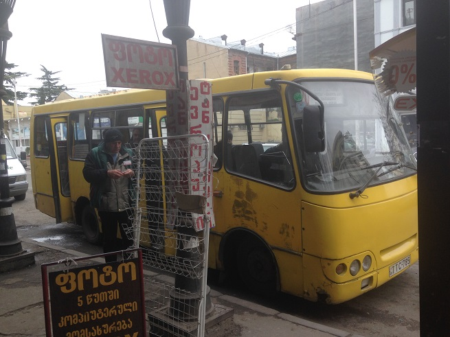 Gradski prevoz u Tibilisiju Foto: Ivana Kovačević