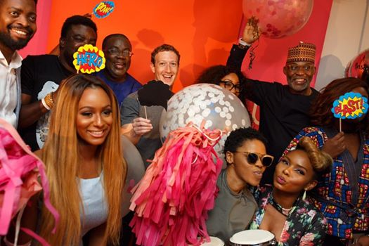 Mark Zuckerberg crashes hio hop Music in Lagos image
