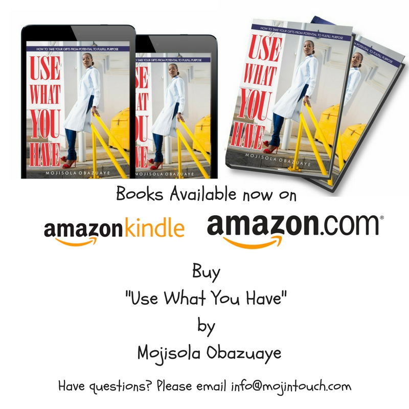 Use What You Have Book by Mojisola Obazuaye