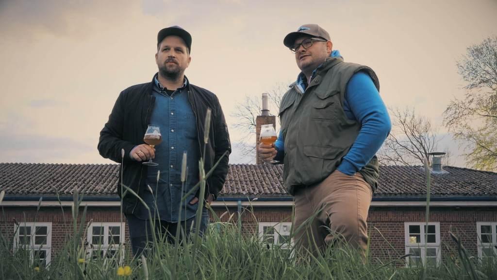 Das Team der Bunthaus Brauerei: Jens Hinrichs (links) und Jens Block (FOTO: BUNTHAUS)