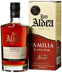 Rum für Kenner. Ron Aldea Familia 15 Anos