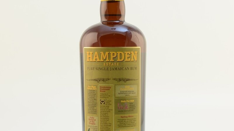 Hampden Estate Pure SIngle Jamaican Rum 46%