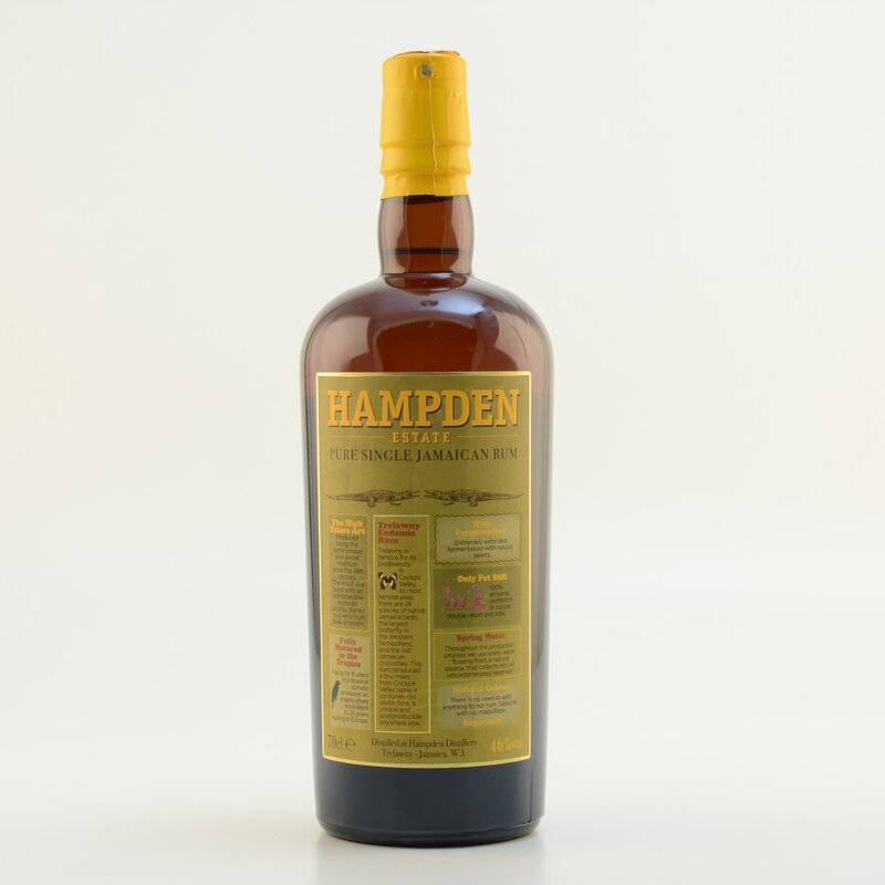 Hampden Estate Pure SIngle Jamaican Rum 46%