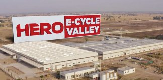 Hero Motors Company has unveiled its new hi-end export-oriented manufacturing plant at the Hero E Cycle Valley near Ludhiana in Punjab.