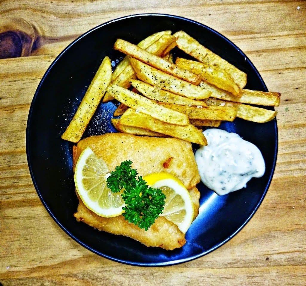 Sunrise Senior Living's Fish & Chips recipe