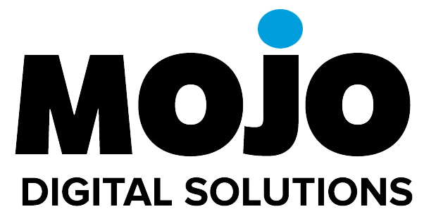 A picture of the mojo digital solutions logo