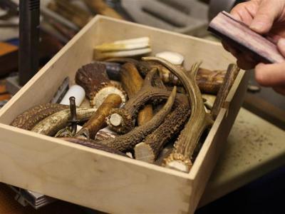 Karls Kiste voller Hirschhörner