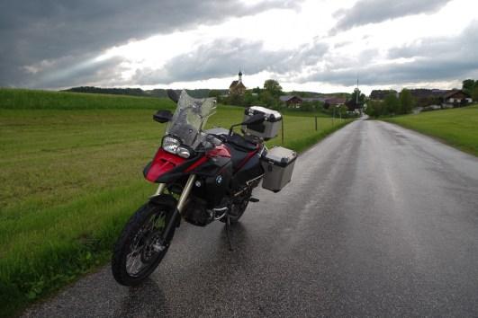 Alltag: Regen in Bayern. Kann auch schön sein.