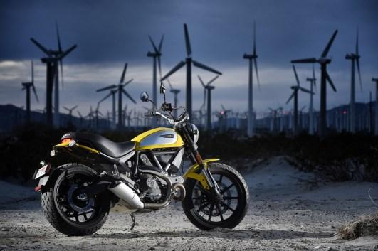 Die neue Ducati SR 800. Schaut super aus.