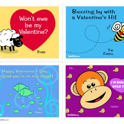 Disney Valentine Day Cards